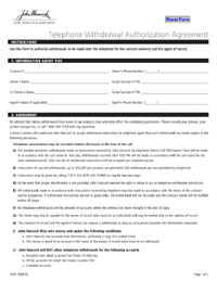 John Hancock Annuities Online Form Submission